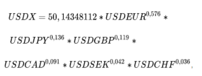 индекс доллара usdx